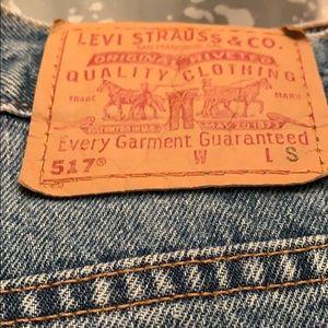 Women's Levi's 517 boot cut 7 junior